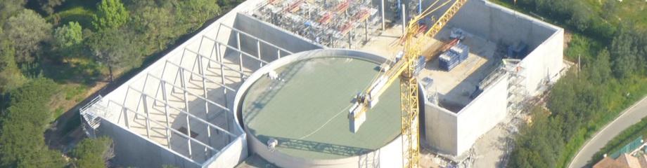 Réservoir d'eau potable de Bellevue (Fréjus 83)